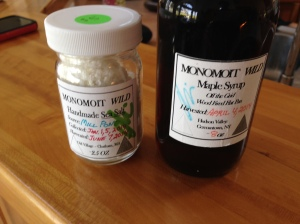 Monomoy Wild Sea Salt and Monomoit Maple Syrup from School St. in Chatham, MA