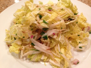 Asian Napa Cabbage Salad